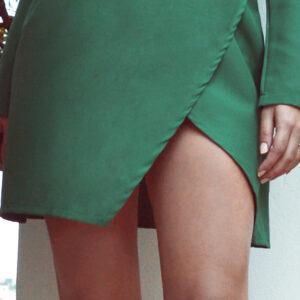 Πράσινο mini φόρεμα TOXICA