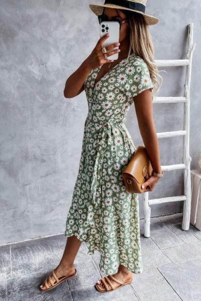 Φόρεμα Floral Βεραμάν