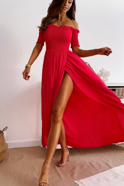 Φόρεμα Maxi Κόκκινο